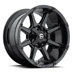 4 20x10 Fuel Gloss Black Coupler Wheels 5x114.3 And 5x127 For Ford Jeep Gm