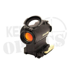 Aimpoint Micro H-2 Red Dot Reflex Sight 200211 With Lrp Mount And Spacer 2 Moa
