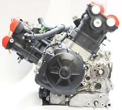 2017 Aprilia Shiver 900 Engine Motor, Cracked Valve Cover, Clean And Warranty