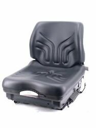 Grammer Msg20 Heavy Equipment Seat For Forklifts Rollers Skid Steers