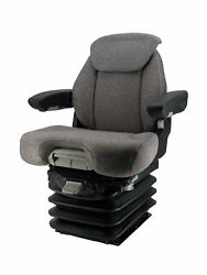 Grammer Msg95/741 Tractor Seat 12v W/arms