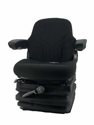 Grammer Msg87/731 Heavy Equipment Seat W/arms 400lb. Weight Capacity