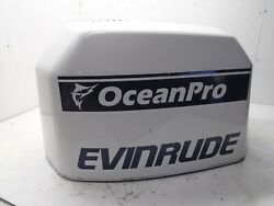 Johnson Evinrude 225 Outboard Motor Top Cowling Engine Cover Fits Various Motors