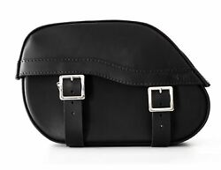 Endscuoio Italia Jazz Leather Saddle Bags For Harley Davidson Softail Models