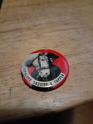 Vintage Hopalong Cassidy And Topper Pin
