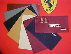 Ferrari Connolly Leather Swatch Dealer Samples 206 246 250 275 330 1960and039s Six Eo
