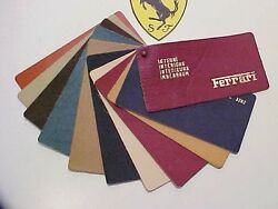 Ferrari Connolly Leather Swatch Dealer Samples 206 246 250 275 330 1960and039s Eo