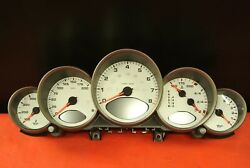 PORSCHE 911 997 CARRERA S CONVERTIBLE AUTOMATIC INSTRUMENT GAUGE CLUSTER WHITE