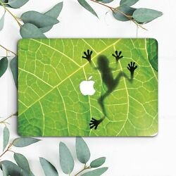 Nature Green Frog Leaf Animal Hard Case Cover For Macbook Pro 13 15 Air 11 13