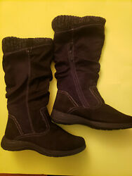Women#x27;s Totes Boots Baxter Cold Weather Black Size 10 $35.00
