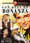 Westerns Galore The Best Of Bonanza Color 4 Dvd Set + 3 Wagon Train Shows