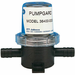 Jabsco 36400-0000 Pumpgard In-line Strainer 1/2and039and039 Id Hose 50 Mesh Screen