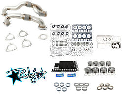 Rudyand039s Engine Overhaul Kit W/ Up Pipes For 2008-2010 Ford 6.4 Powerstroke Diesel