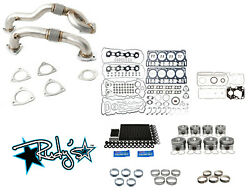 Rudy's Engine Overhaul Kit W/ Up Pipes For 2008-2010 Ford 6.4 Powerstroke Diesel