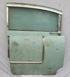 1955 Cadillac Left Side Rear Door Mostly Complete Nice Stainless Trim