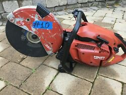 Hilti Dsh 700-x Gas Saw ,for Parts Only, Not Working, 10, Fast Ship