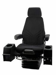 Grammer Msg95/722p 24v Air Construction Seat W/pods