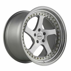 19x9.5 +12 Whistler Sk5 5x114.3 Machined Face Wheels Set Of 4
