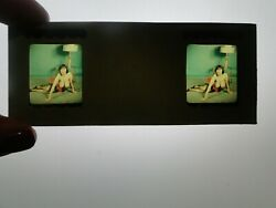 Nude 3d Realist Stereo View Slide Busty Vintage 1950and039s Pinup Linda West