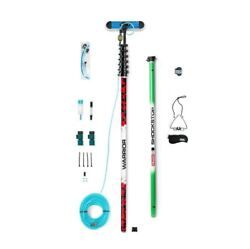 Reach-it Warrior Power Pack 40ft Carbon Fibre Water Fed Window Cleaning Pole Kit