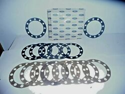 Nos 1948-1979 Ford A8tz-1001-d 12 Lug Axle Housing Flange Gaskets Lot Of 15