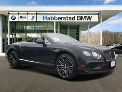 2016 Bentley Continental GT 2dr Conv Speed 2016 Bentley Continental GT 2dr Conv Speed 23557 Miles GRAY Convertible 6.0L 8-S