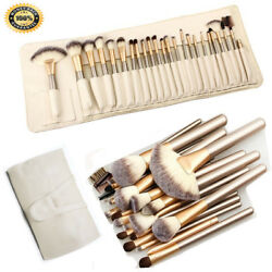 32pcs Pro Makeup Brush Set Powder Foundation Eyebrow Brush Tools amp; Cosmetic Bag $10.99