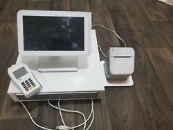Clover Touchscreen Complete Pos System With Chip Reader