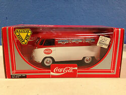 New Coca Cola Vw Bus Combi New In The Unopened Box 118 Diecast 1/18th Scale