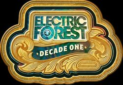 Electric Forest 2021 Festival 4-day Ticket General Admission Wristband 6/24-6/27