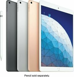 Apple Ipad Air 64gb 10.5 Wi-fi, Newest Version, 2019 Space Gray, Gold, Silver
