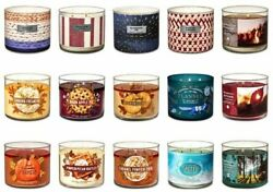 BATH amp; BODY WORKS 3 WICK SCENTED CANDLES CHOOSE YOUR SCENT White Barn $35.00