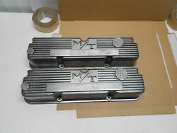 1960s Micky Thompson Ford And Mercury 427 Aluminum Valve Covers 3923800 Galaxie