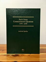 1999-2008 Fifty State Commemorative Quarters Coin Set And Album