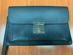 Louis Vuitton Epi Leather Business Documents Clutch Bag With Set Of Keys