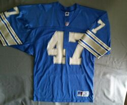 Vintage Detroit Lions Jersey 47 Russell Athletic Rare Deadstock Nfl Throwback