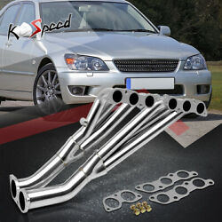 Altezza Xe10 2jz-ge Stainless Exhaust Header For 01-05 Lexus Is 300 2jzge 3.0