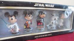 Disney Star Wars Weekends Limited Edition Bobblehead Set 500 Made