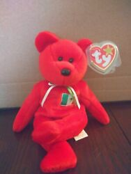 Rare Osito The Mexican Bear Ty Beanie Baby With Several Errors + Free Shipping