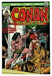 Conan The Barbarian 34 Vf/nm Owp Complete 1974 1st Print Marvel Comics