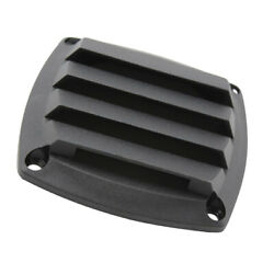 3 Inch Black Plastic Louvered Vents Boat Marine Parts Vent Grill Cover