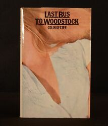 1975 Last Bus To Woodstock Colin Dexter Inspector Morse First Edition