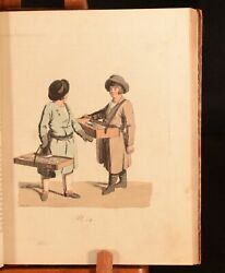 1801-1803 Costumes Moeurs et Coutumes Des Russes French German Colour Plates