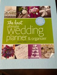 The Knot Ultimate Wedding Planner And Organizer By Carley Roney 2013, Hardcover