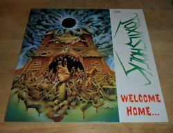 Vintagelp Toxic Shock Welcome Home 1990 W Germany Nuclear Blast Records Spv2927
