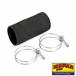 1954 Plymouth New Fuel Tank Filler Pipe Rubber Hose And Clamps Mopar Savoy Plaza