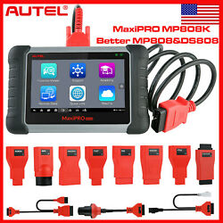 Autel Maxipro Mp808k Obdii Bi-directional Control Oil Auto Diagnostic Tool Mp808