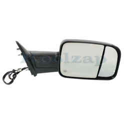2012-12 Ram Truck Rear View Towing Mirror Power Heated W/signal Lamp Right Side