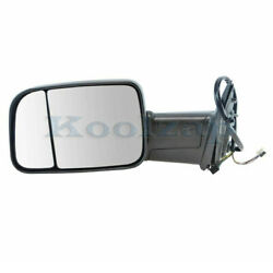 13-18 Ram 2500/3500 Truck Rear View Tow Mirror Power Heated W/signal Driver Side