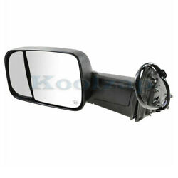 13-18 Ram 2500/3500 Truck Rear View Tow Mirror Power Heated W/memory Driver Side